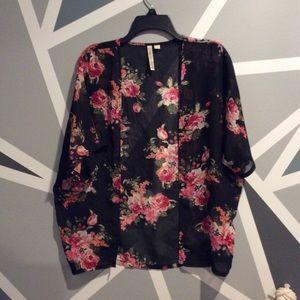 Jackets & Blazers - Sheer kimono